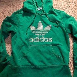 365e0da6782 Adidas Vintage Sweater 34 Zipper Euc